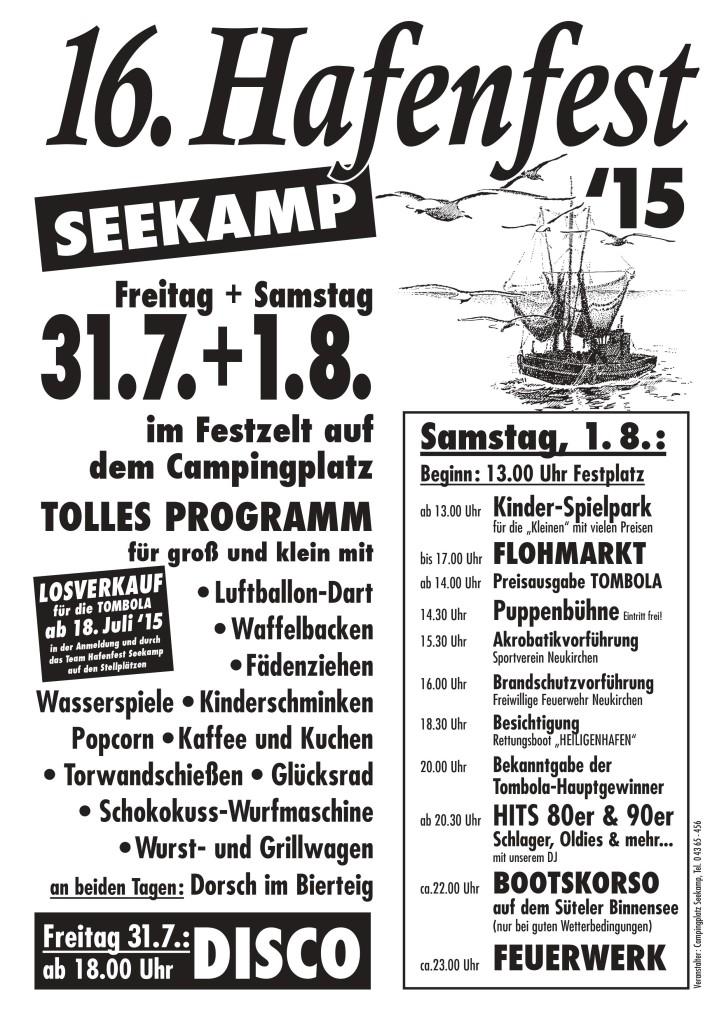 Programm Hafenfest 2015